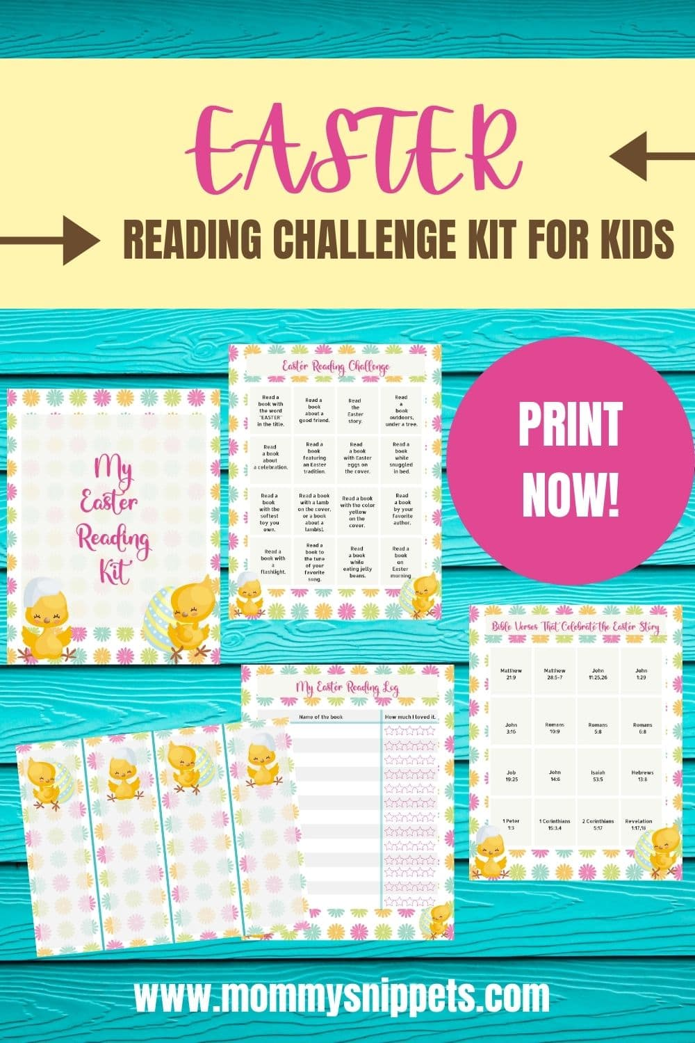 Easter Reading Becomes a Lot More Fun With This Reading Challenge Kit!