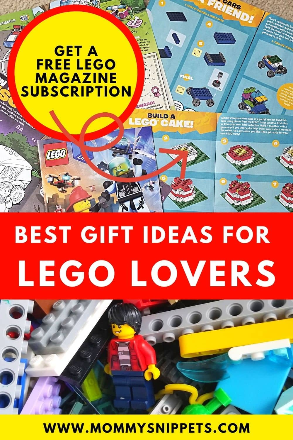 A Free LEGO Life Magazine Subscription and Gift Ideas for LEGO Lovers