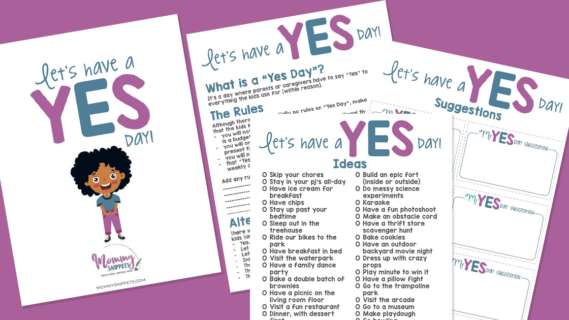 Make Unforgettable Memories for Your Kids With a Yes Day!