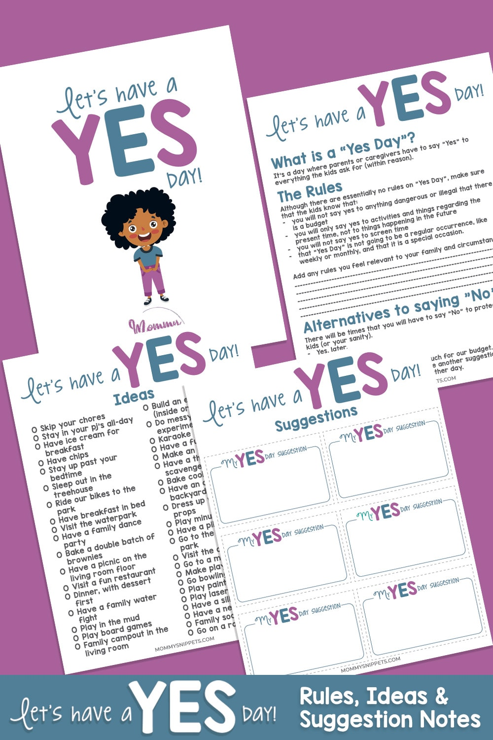 Make Unforgettable Memories for Your Kids With a Yes Day!-MommySnippets