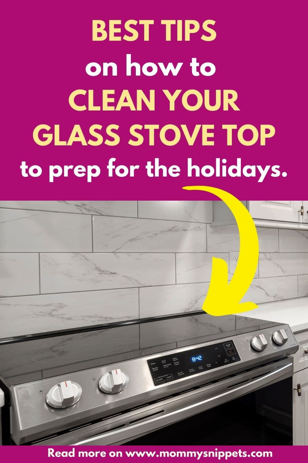 Best Tips on How to Clean Your Glass Stove Top to Prep for the Holidays