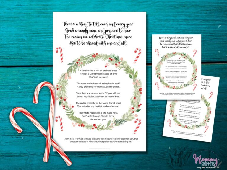 How to Use the Candy Cane Poem to Teach Kids the Christmas Story